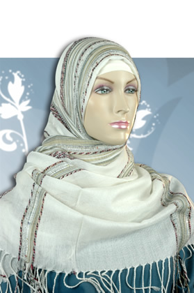 hijab Scarf, lightly sequined Hijabs